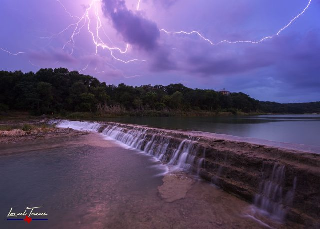 Lightning on The Blanco River