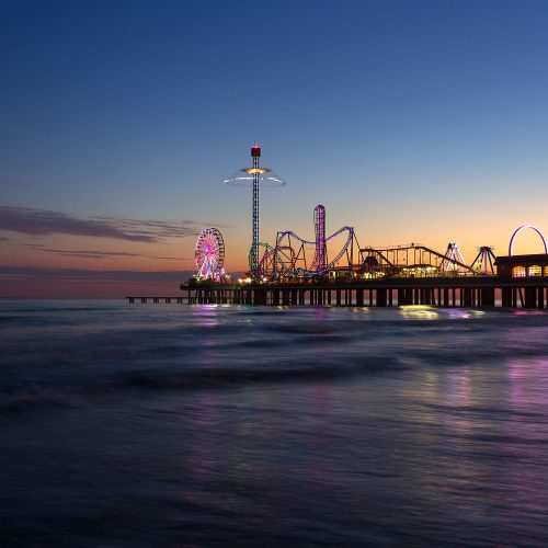 Dusk at the Pleasure Pier