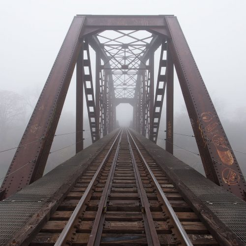 The Trestle in The Fog